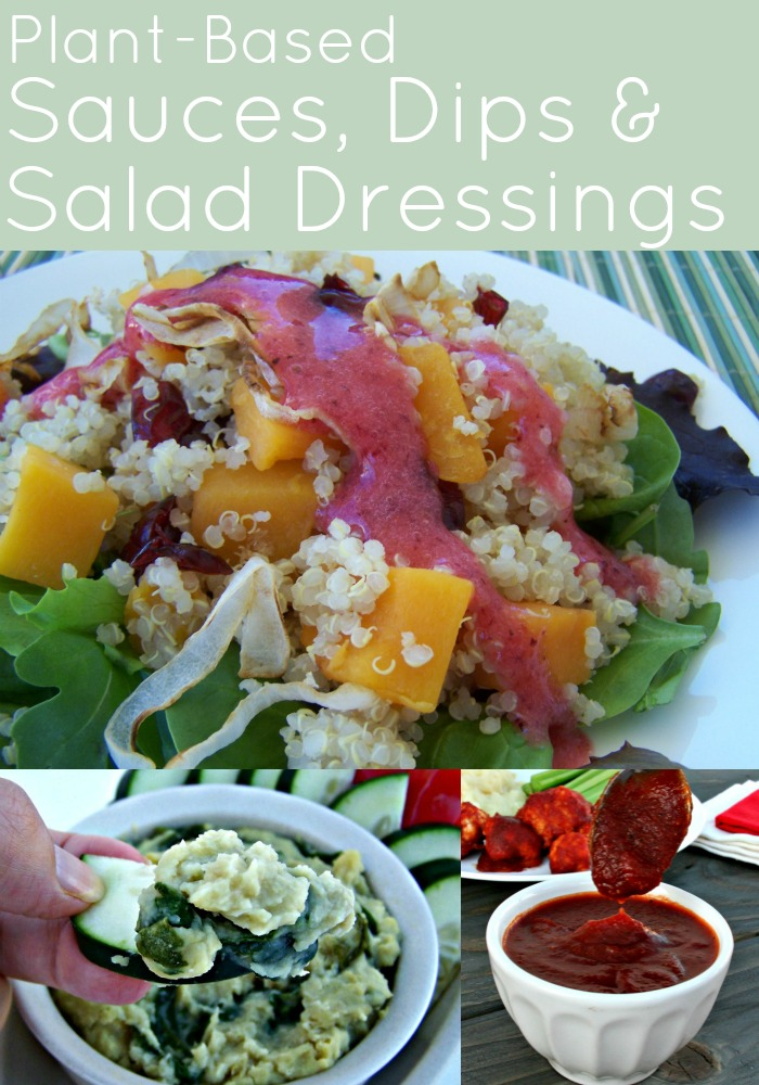 sauces dips and salad dressings