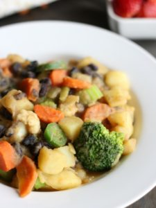 Breakfast Stir Fry: A savory, plant-based breakfast that is hearty and delicious.