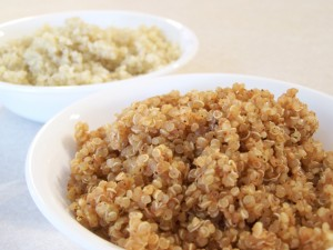 Quinoa seasoned for Tacos