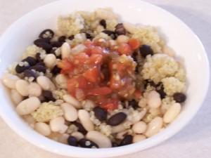 bean and grain bowl