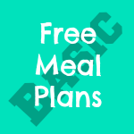 free plant based meal plans