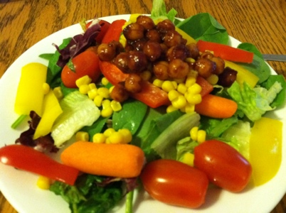 Barbecue Chickpea Salad