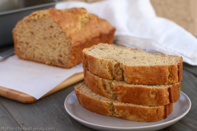 Banana bread archives my plant based family i used to make banana bread before we switched to a plant based diet this was one of the first recipes i had to update to make with healthier ingredients forumfinder Gallery