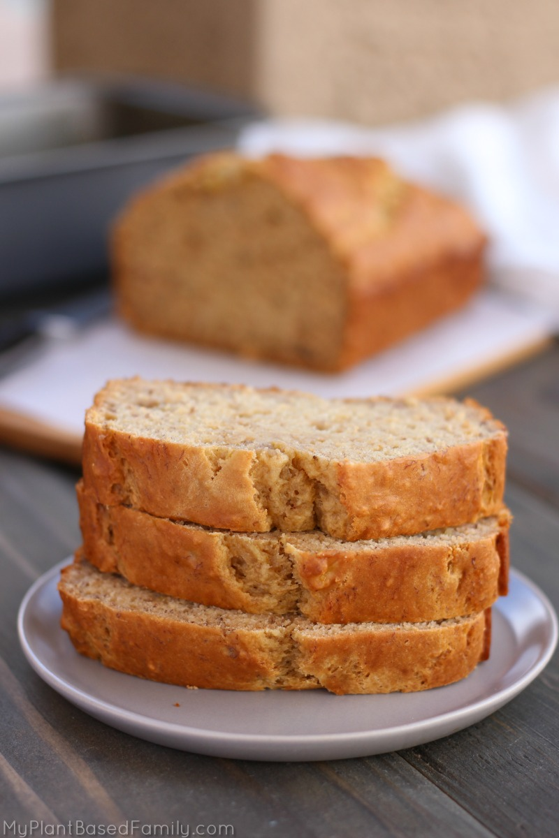 This easy and delicious banana bread is an old family recipe that has been updated with healthier ingredients. The best part is, no one knows its healthy!