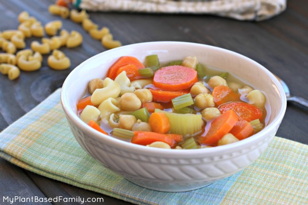 Chickpea noodle soup Plant-Based Gluten-Free