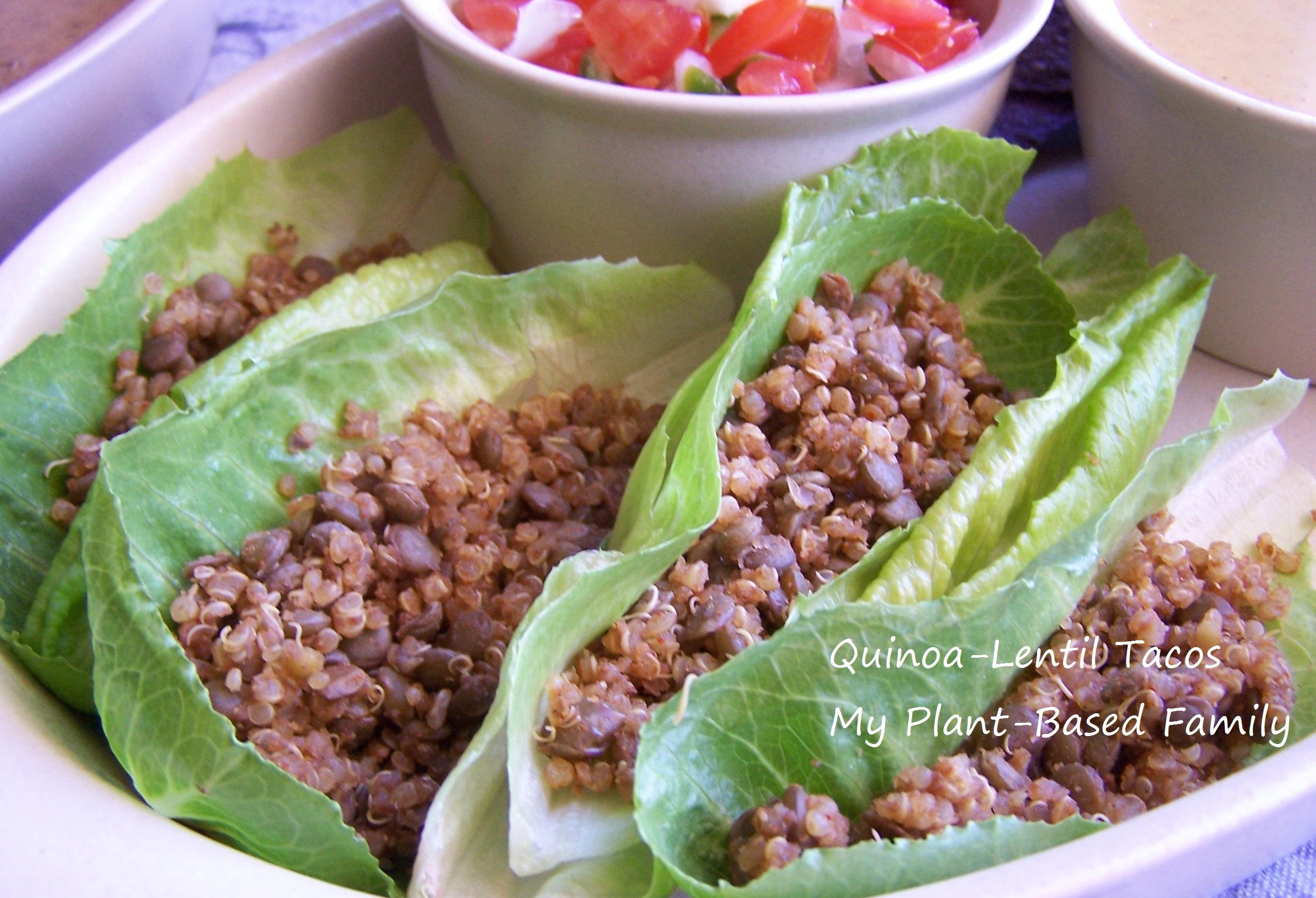 Quinoa-Lentil Tacos