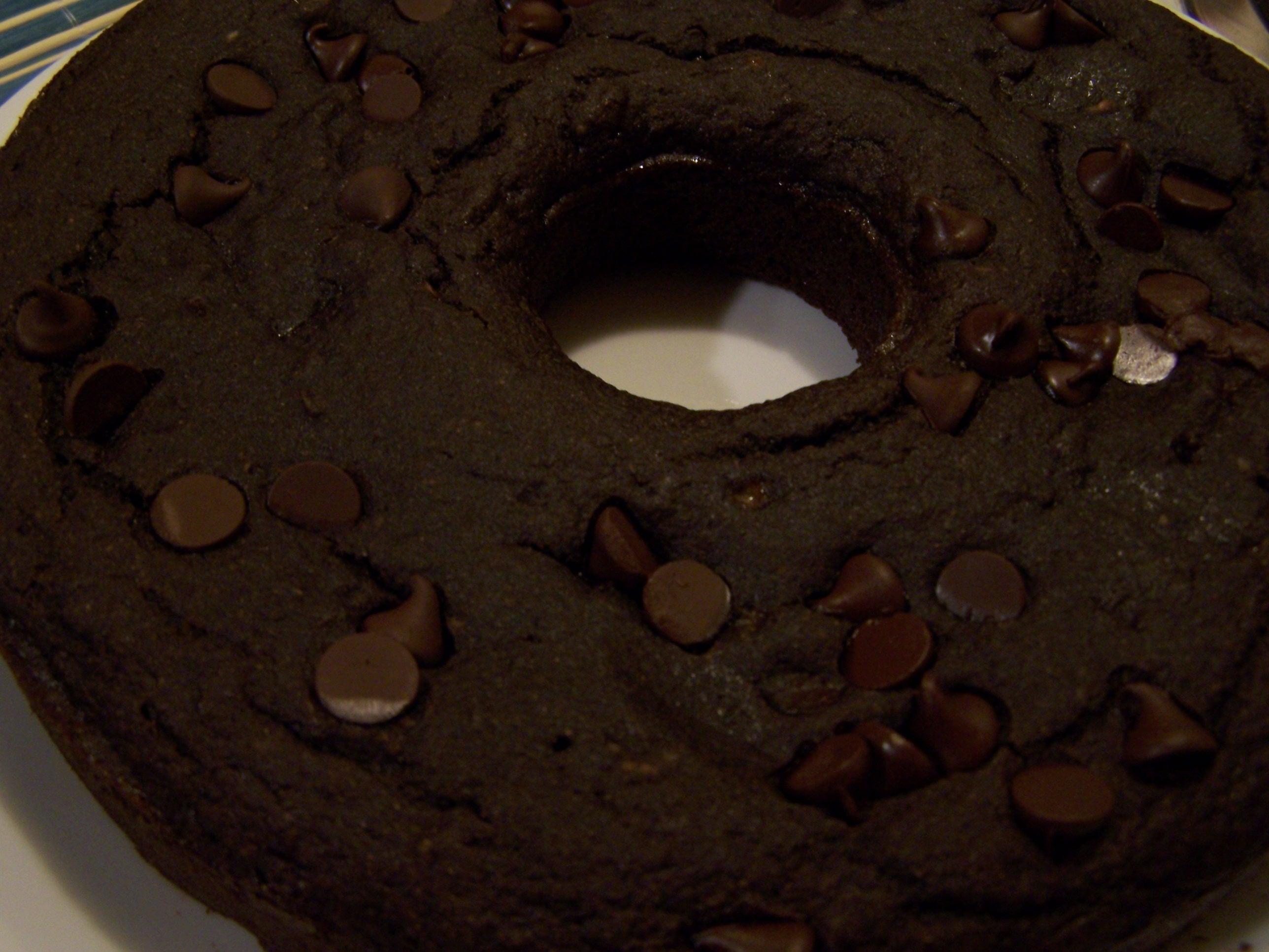 GF, V Chocolate Cake