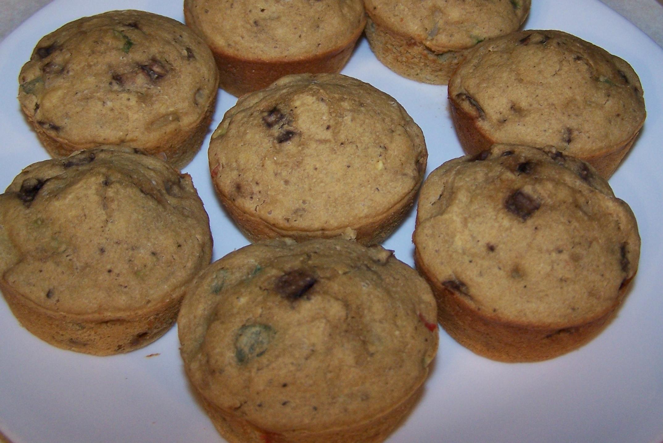 HC March savory muffins
