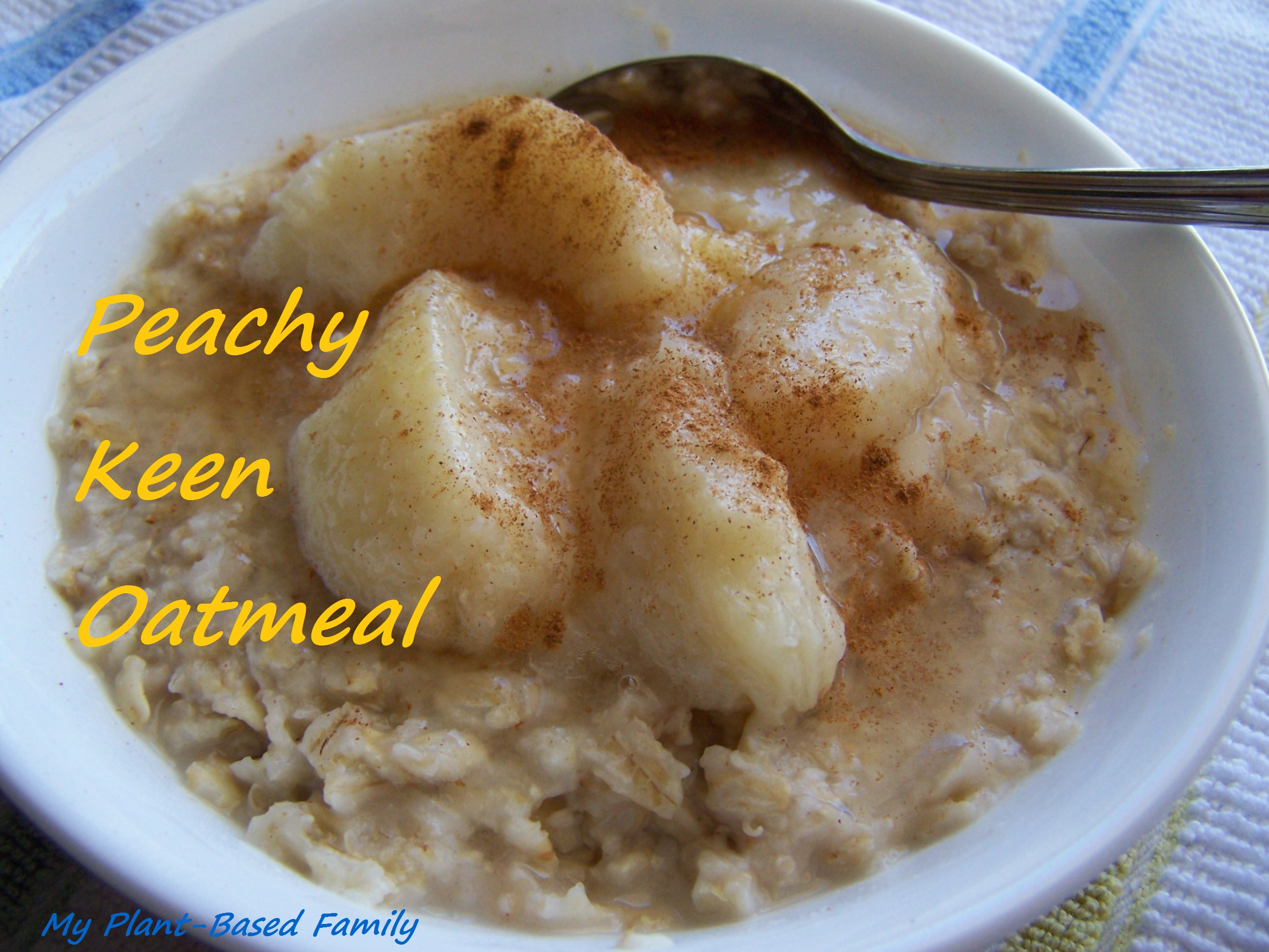 peachy keen oatmeal