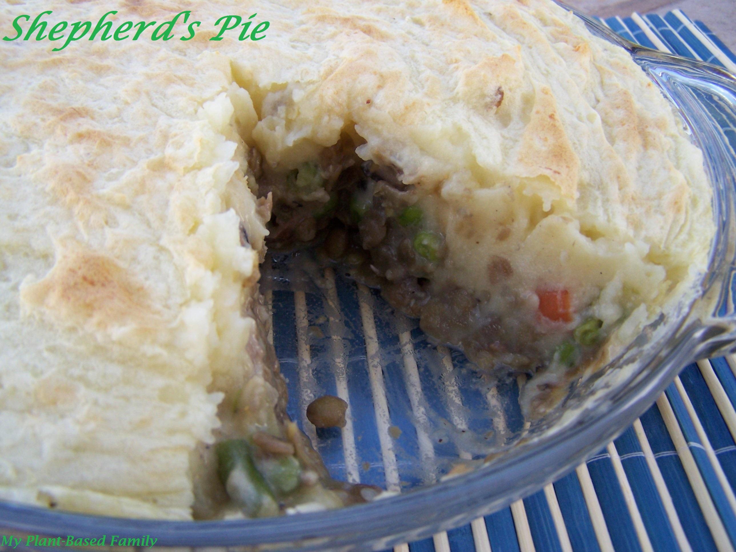 shepherd pie VVP