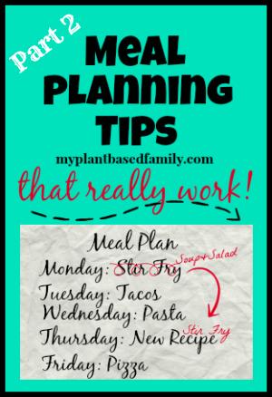 Meal Plan Tips