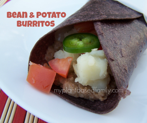 Bean and Potato Burrtios