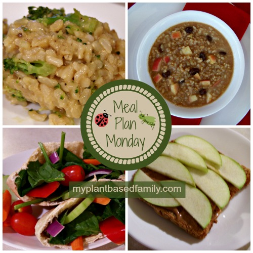 Spring Meal Plan that is vegan and Gluten-free