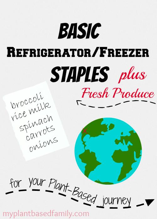 basic refrigerator freezer staples
