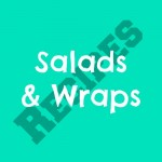 salads and wraps