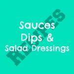 sauce dip salad dressing