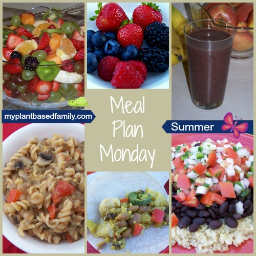 Meal Plan for a plant-based diet! It's also gluten-free and nut-free! Perfect for anyone trying to eat healthy this summer!