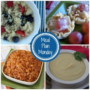Meal Plan Monday! Vegan and gluten-free Meal plans!