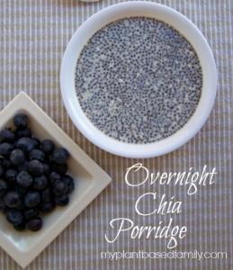 Vegan and Gluten-free overnight Chia Porridge