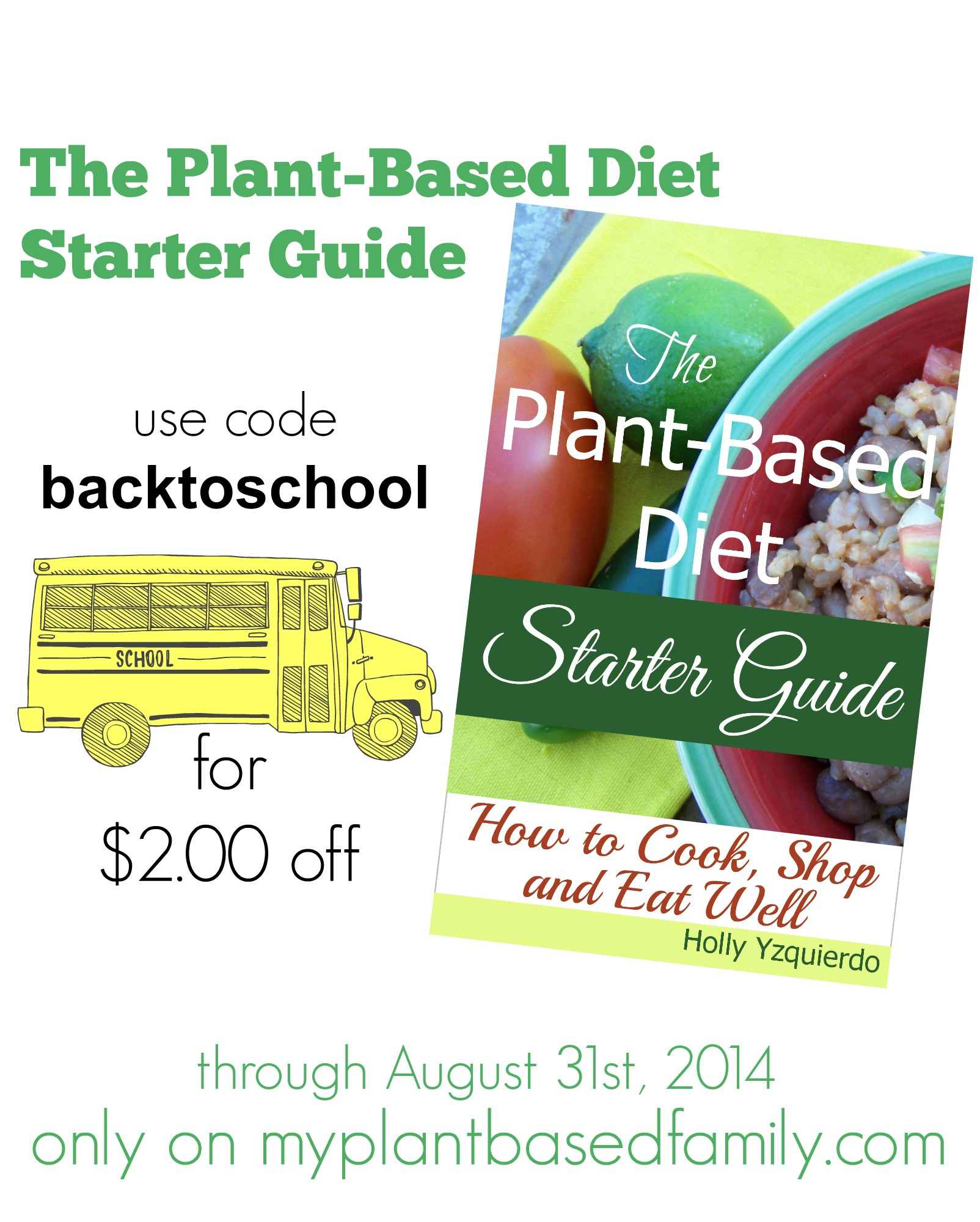 The Plant-Based Diet Starter Guide: How to Cook, Shop and Eat Well is $2 off during August