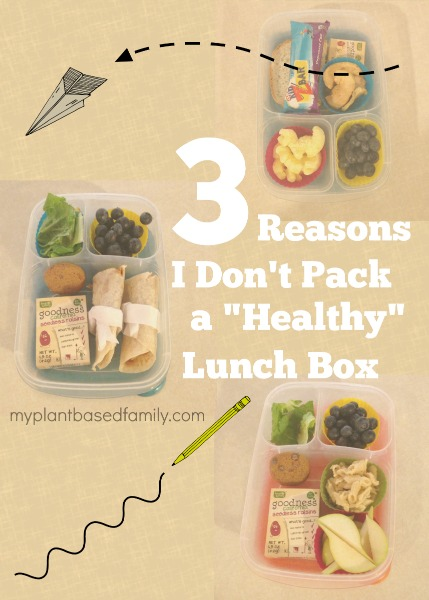 3 reasons I don't pack a Healthy lunch box
