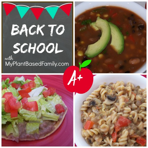 Meal Plan for Back to School