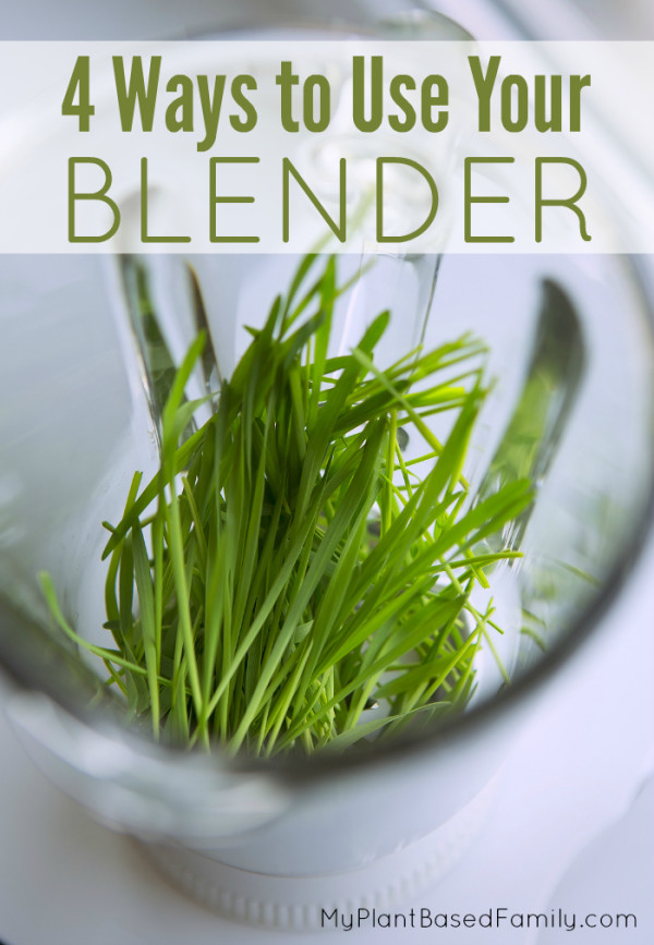 Love your blender? Love it all year long with 4 ways to use your blender that is not smoothies.