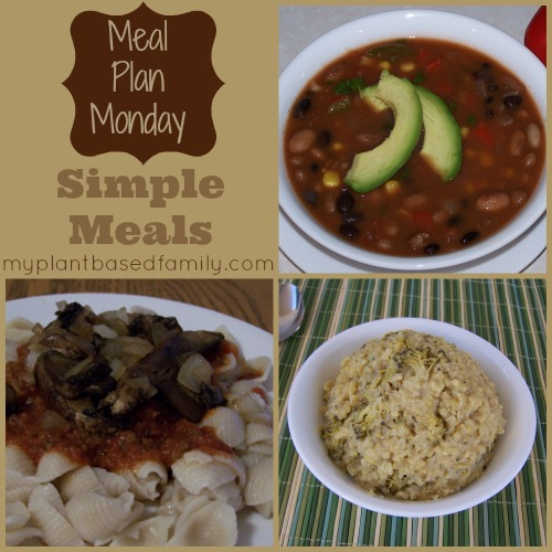 Simple Plant-Based Meals