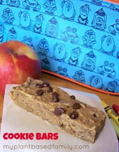Gluten-Free, Nut-Free, Vegan Cookie bars