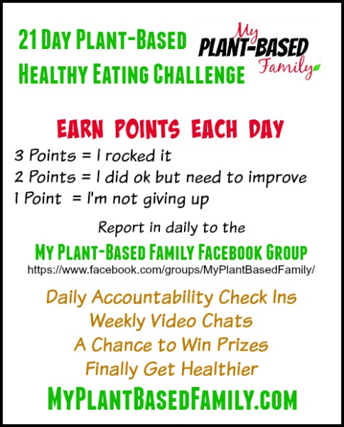21 Day plant based Healthy Eating Challenge