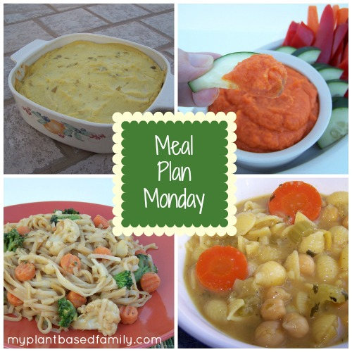 Meal Plan Monday Plant-based, Vegan, gluten-free