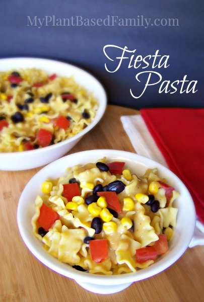 Fiesta Pasta is Vegan, Gluten-free, Dairy-Free and Nut-Free