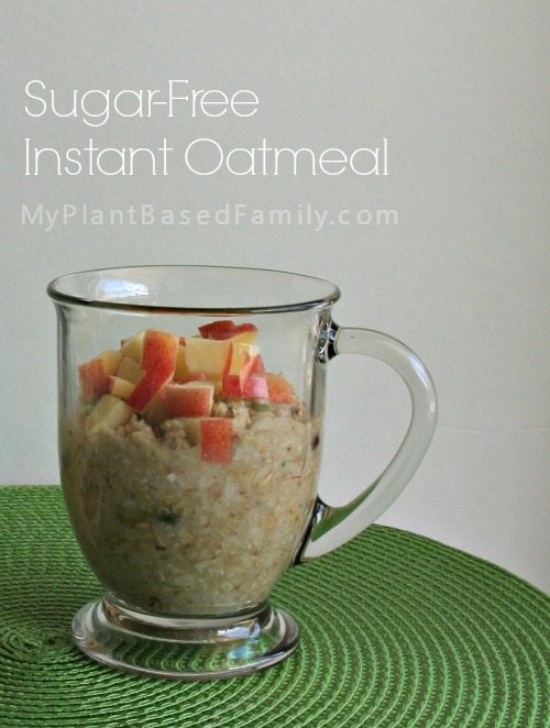 Sugar-Free Instant Oatmeal