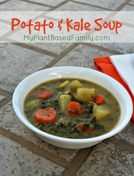 Potato Kale Soup Vegan and Gluten-Free