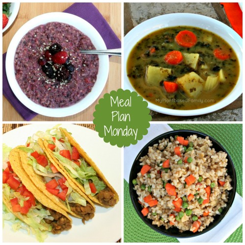 Winter Spring meal Plan