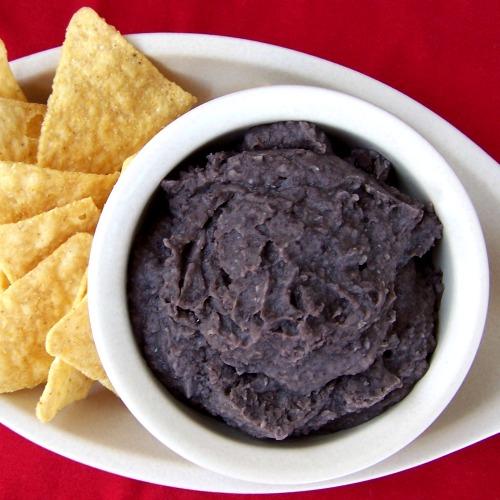 Oil-free black beans