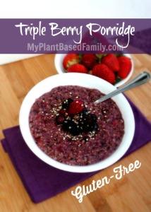 Triple Berry Porridge