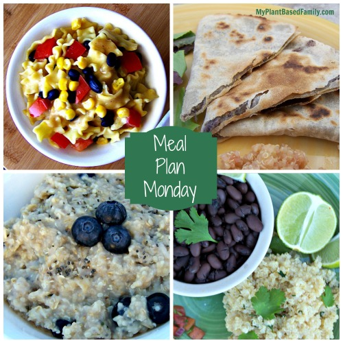 A gluten-free Plant-Based (vegan) Meal Plan