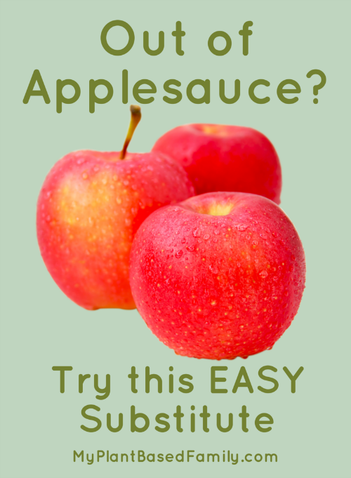Need to substitute applesauce? This EASY applesauce is quick and simple!