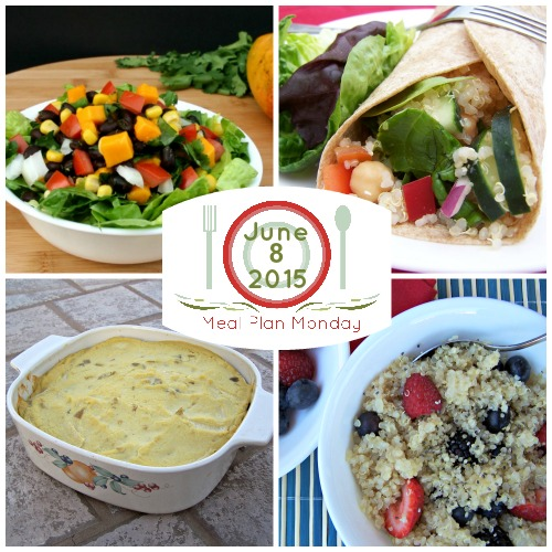 A summer meal plan for plant-based vegan diet