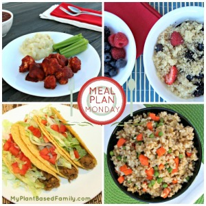 A Plant-Based Meal Plan that is also gluten-free and low fat. Perfect for anyone trying to eat healthier. These delicious meals packed with fiber and nutrients will keep you full.
