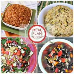 A Plant-Based (Vegan) Meal Plan that is also gluten-free! I used once a week cooking to get this done in a few hours so I don't have to cook again this week.