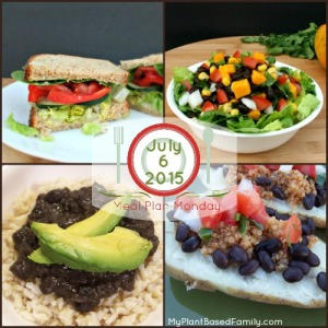 Meal Plan Monday: Plant-Based, Vegan Meal Plan with mostly gluten-free options