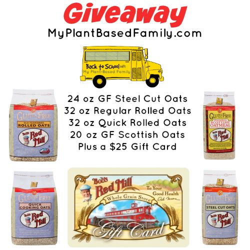 Bobs Red Mill giveaway