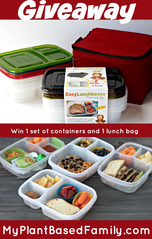 Easy Lunchboxes giveaway