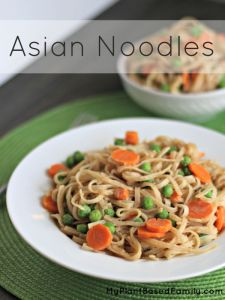 asian noodles peanut and gluten-free