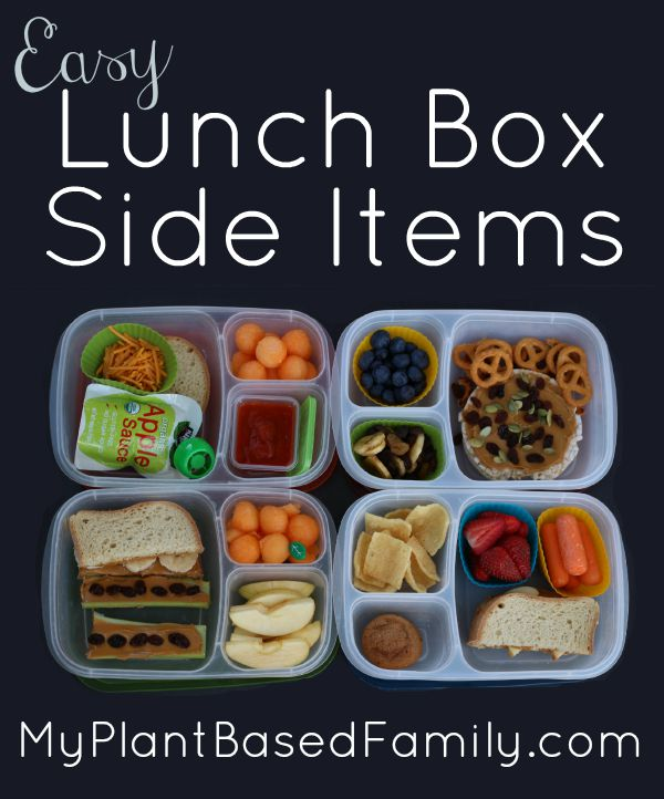 Lunch Box Side Items