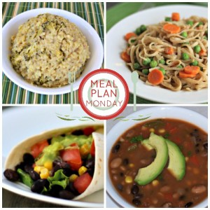Meal Plan Monday Plant-Based, Vegan and mostly gluten-free meal plans