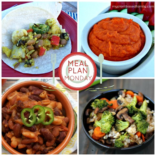 a plant-based meal plan for fall.