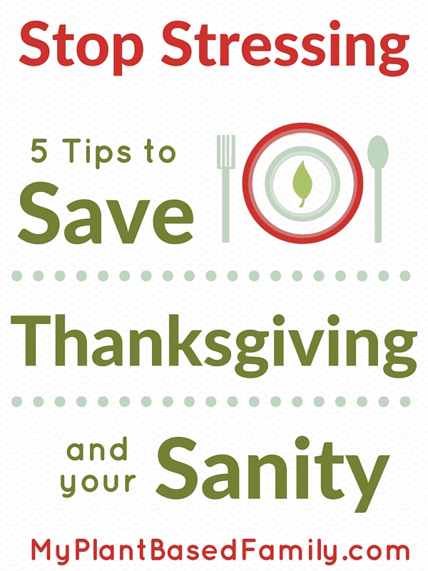 5 Tips to Save Thanksgiving and your sanity